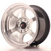 "Jante JAPAN RACING JR12 15"" x 8,5"" 4x100 4x114,3 ET 13 Silver"