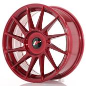 "Jante JAPAN RACING JR22 17"" x 7"" Multi Perçage ET 35-40 Red"