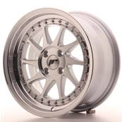 "Jante JAPAN RACING JR26 16"" x 8"" 4x100 ET 30 Machined Face Silver"