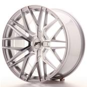 "Jante JAPAN RACING JR28 19"" x 9,5"" Multi Perçage ET 20-40 Silver Machined Face"