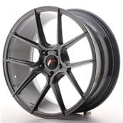 "Jante JAPAN RACING JR30 19"" x 8,5"" 5x112 ET 40 Hiper Black"