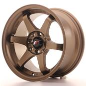 "Jante JAPAN RACING JR3 15"" x 8"" 4x108 4x100 ET 25 Bronze"