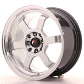 "Jante JAPAN RACING JR12 16"" x 8"" 4x108 4x100 ET 22 Silver"