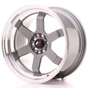 "Jante JAPAN RACING JR12 17"" x 9"" 5x100 5x114,3 ET 25 Gun metal"