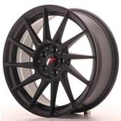 "Jante JAPAN RACING JR22 17"" x 7"" 4x108 4x100 ET 25 Black"