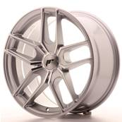 "Jante JAPAN RACING JR25 18"" x 8,5"" Multi Perçage ET 20-40 Silver Machined Face"