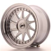 "Jante JAPAN RACING JR26 16"" x 9"" Multi Perçage ET 25 Machined Face Silver"