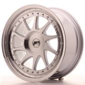 "Jante JAPAN RACING JR26 18"" x 8,5"" Multi Perçage ET 20-40 Machined Face Silver"