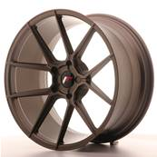 "Jante JAPAN RACING JR30 20"" x 10"" Multi Perçage ET 20-40 Bronze"