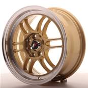 "Jante JAPAN RACING JR7 15"" x 7"" 4x100 4x114,3 ET 38 Gold"