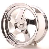 "Jante JAPAN RACING JR15 16"" x 8"" Multi Perçage ET 25 Chrome"