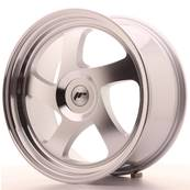 "Jante JAPAN RACING JR15 18"" x 8,5"" Multi Perçage ET 20-40 Silver Machined Face"
