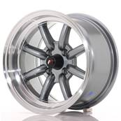 "Jante JAPAN RACING JR19 14"" x 8"" 4x100 ET -13 Gun metal"