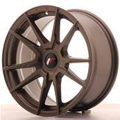 "Jante JAPAN RACING JR21 17"" x 8"" Multi Perçage ET 35 Bronze"