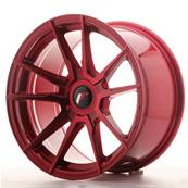 "Jante JAPAN RACING JR21 17"" x 9"" Multi Perçage ET 25-35 Red"