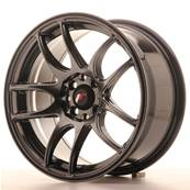 "Jante JAPAN RACING JR29 16"" x 8"" 4x100 4x108 ET 28 Hiper Black"