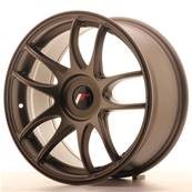 "Jante JAPAN RACING JR29 17"" x 8"" Multi Perçage ET 20-35 Bronze"