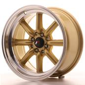 "Jante JAPAN RACING JR19 16"" x 8"" 4x100 4x114,3 ET -20 Gold"