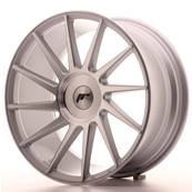 "Jante JAPAN RACING JR22 18"" x 8,5"" Multi Perçage ET 40 Machined Face Silver"