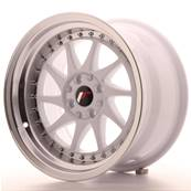 "Jante JAPAN RACING JR26 16"" x 9"" 4x108 4x100 ET 20 White"