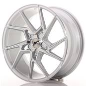 "Jante JAPAN RACING JR33 19"" x 8,5"" Multi Perçage ET 20-45 Silver Machined Face"