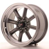 "Jante JAPAN RACING JR19 16"" x 8"" 4x100 4x114,3 ET 0 Gun metal"