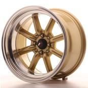 "Jante JAPAN RACING JR19 16"" x 9"" 4x114,3 4x100 ET -15 Gold"
