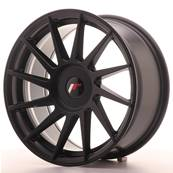 "Jante JAPAN RACING JR22 17"" x 8"" Multi Perçage ET 25-35 Black"