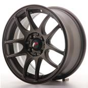 "Jante JAPAN RACING JR29 15"" x 7"" 4x108 4x100 ET 35 Bronze"
