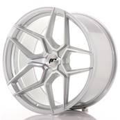 "Jante JAPAN RACING JR34 20"" x 10,5"" Multi Perçage ET 20-35 Silver Machined Face"