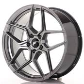 "Jante JAPAN RACING JR34 20"" x 9"" 5x112 ET 40 Hiper Black"