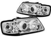 Paire de feux phares Audi A3 8L 96-00 angel eyes CCFL chrome