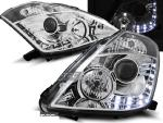 Paire de feux phares Nissan 350Z 03-05 xenon Daylight led chrome