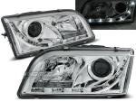 Paire de feux phares Volvo S40 / V40 96-03 Daylight led chrome