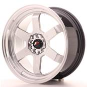 "Jante JAPAN RACING JR12 17"" x 8"" 5x112 5x120 ET 35 Silver"