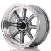 "Jante JAPAN RACING JR19 14"" x 7"" 4x100 4x114,3 ET 0 Gun metal"