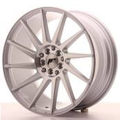 "Jante JAPAN RACING JR22 18"" x 8,5"" 5x114,3 5x112 ET 40 Machined Face Silver"