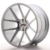 "Jante JAPAN RACING JR30 20"" x 11"" Multi Perçage ET 20-30 Machined Face Silver"