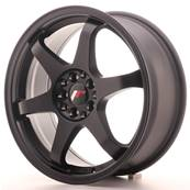 "Jante JAPAN RACING JR3 17"" x 7"" 4x100 4x108 ET 25 Black"