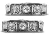 Paire clignotant VW Golf 1 / Golf 2 / Jetta chrome