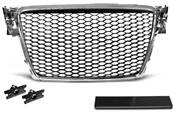 Grille de calandre Audi A4 B8 08-11 look RS chrome (U02)