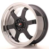 "Jante JAPAN RACING JR12 16"" x 8"" 4x100 4x114,3 ET 15 Black"