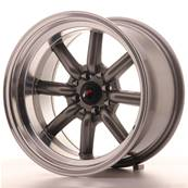 "Jante JAPAN RACING JR19 16"" x 9"" 4x100 4x114,3 ET -15 Gun metal"