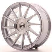 "Jante JAPAN RACING JR22 17"" x 7"" Multi Perçage ET 35-40 Machined Face Silver"