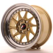 "Jante JAPAN RACING JR26 15"" x 8"" 4x108 4x100 ET 25 Gold"