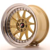 "Jante JAPAN RACING JR26 16"" x 9"" 4x108 4x100 ET 20 Gold"