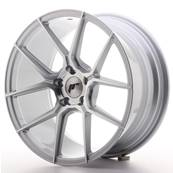 "Jante JAPAN RACING JR30 18"" x 8,5"" 5x112 ET 40 Silver Machined Face"