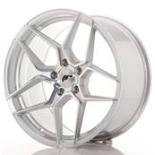 "Jante JAPAN RACING JR34 19"" x 9,5"" 5x120 ET 35 Silver Machined Face"