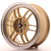 "Jante JAPAN RACING JR7 16"" x 7"" 4x100 4x114,3 ET 38 Gold"