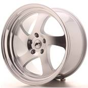 "Jante JAPAN RACING JR15 19"" x 10"" 5x100 ET 35 Machined Face Silver"
